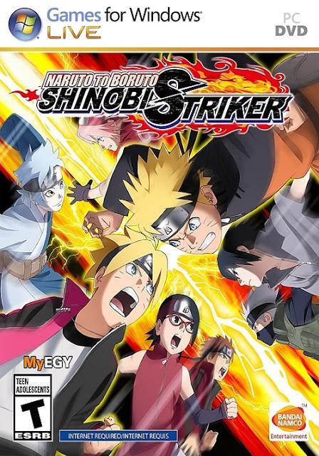 تحميل لعبه NARUTO TO BORUTO SHINOBI STRIKER2018  للكمبيوتر