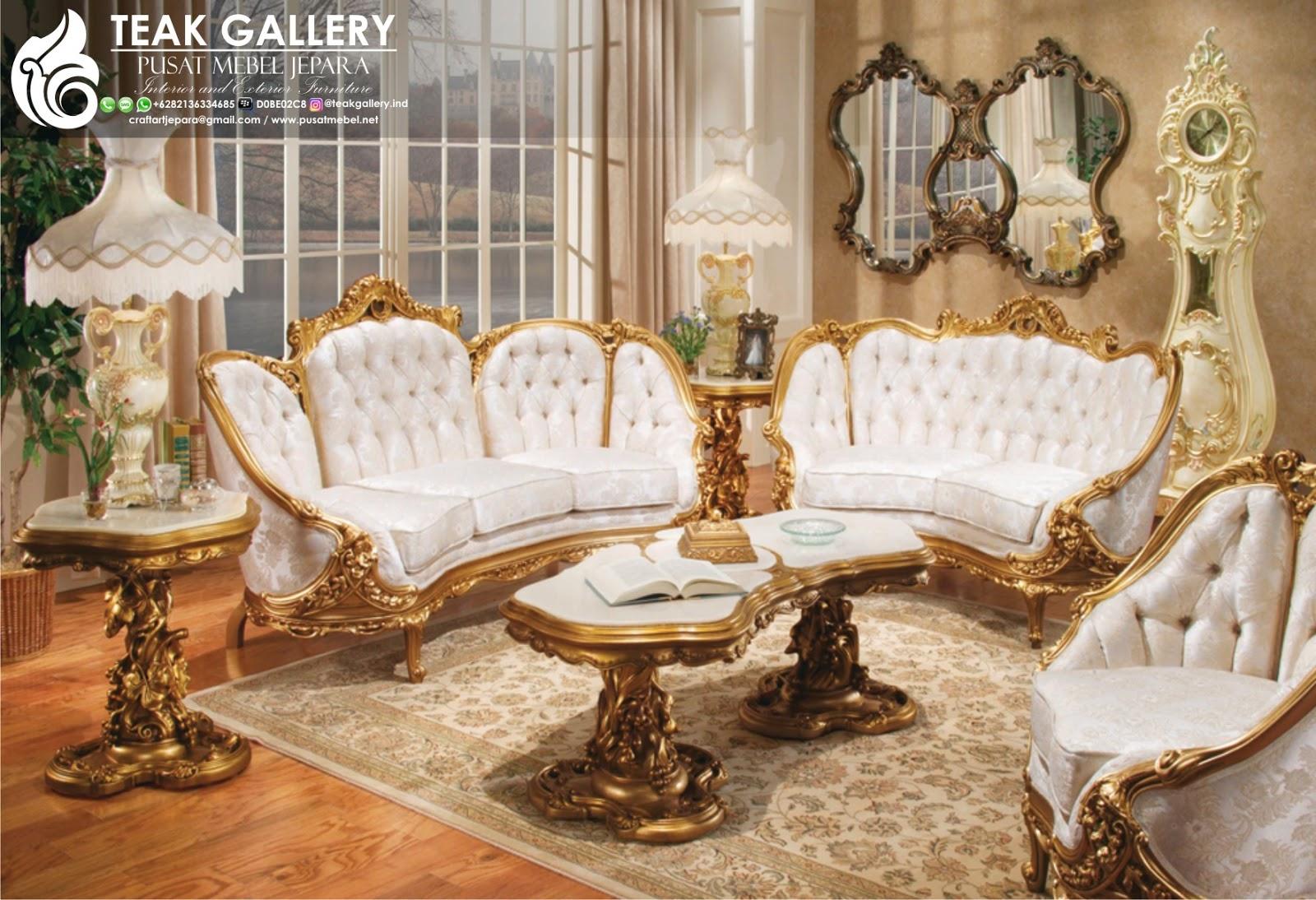 Galeri Sofa Tamu Set Sofa Tamu Mewah Victorian Terbaru