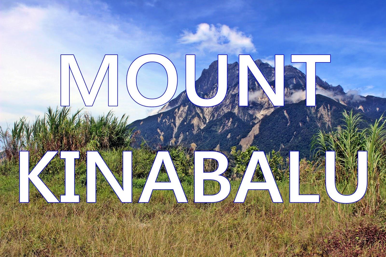 pemandangan gunung kinabalu megah menjulang langit yang mengagumkan gambar gambar