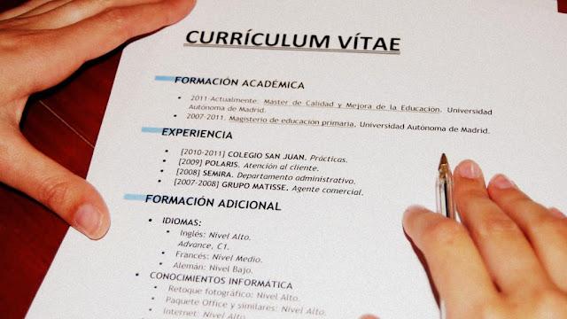 Consejos para armar un CV exitoso