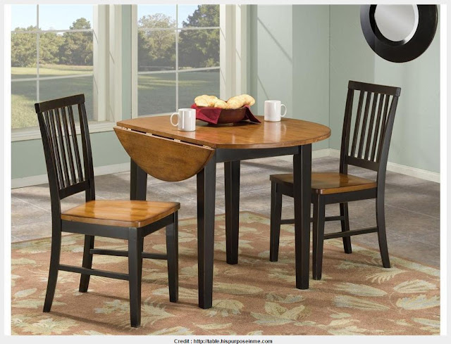 Top Origami Drop Leaf Dining Table Image