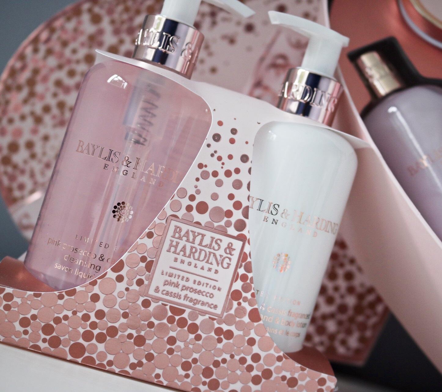 Gift Set Shower Gel & Lotion Health & Beauty Painstaking Baylis & Harding Lilac & English Lavender 3 Pc