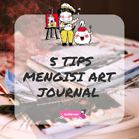tips mengisi art journal pages