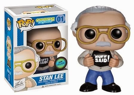 "ConventionExclusive.com Exclusive ""Nuff Said"" Stan Lee Pop! Vinyl Figure by Funko"