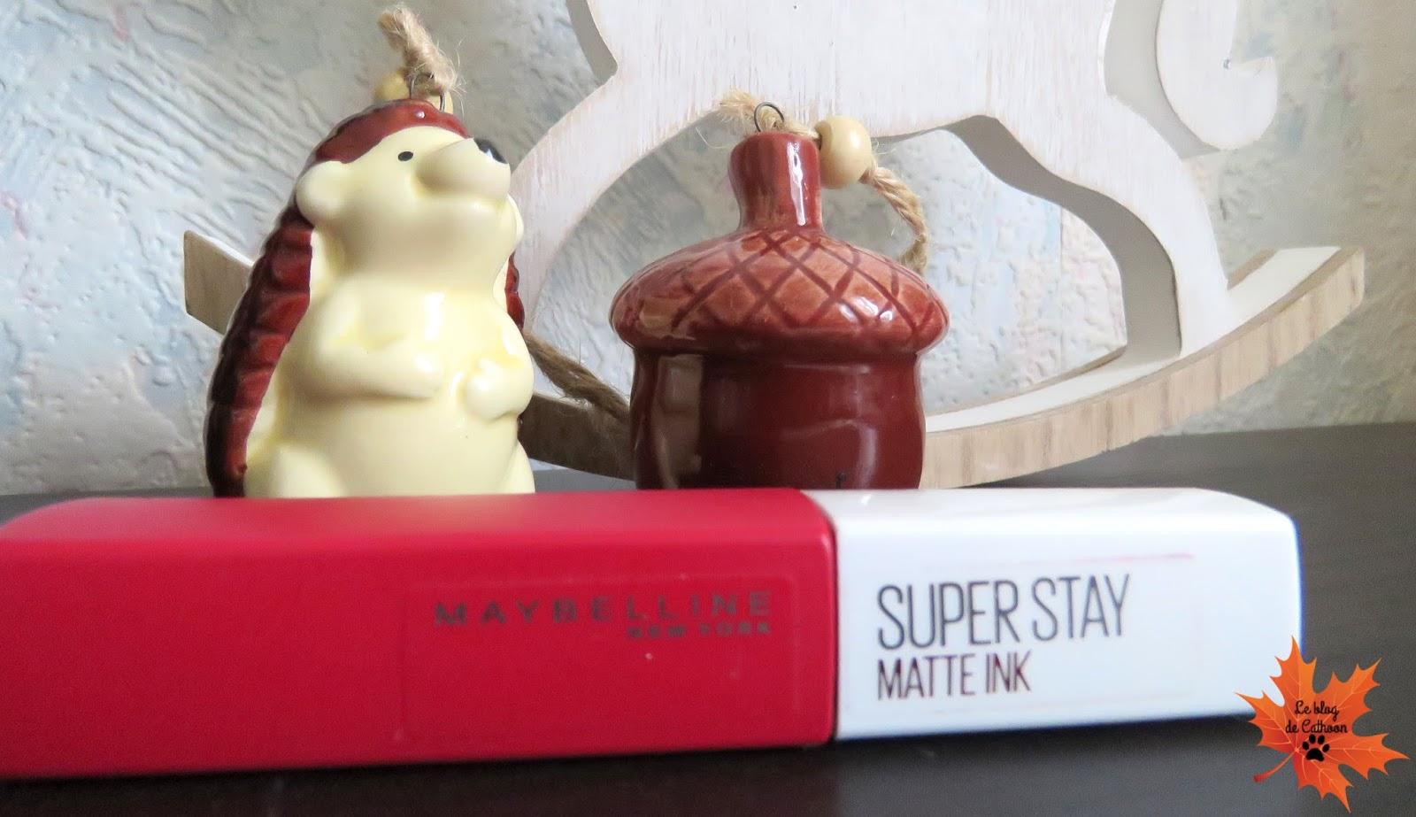 Super Stay Matte Ink de Maybelline