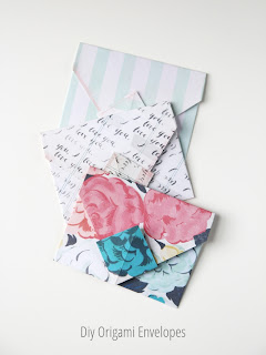 Diy Origami Envelopes