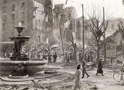 WWII bomb command Milano guerra bombardamenti raf
