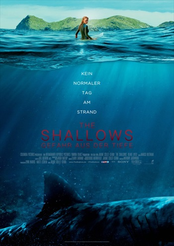 The Shallows 2016 Full Movie English 250MB 480p ESubs