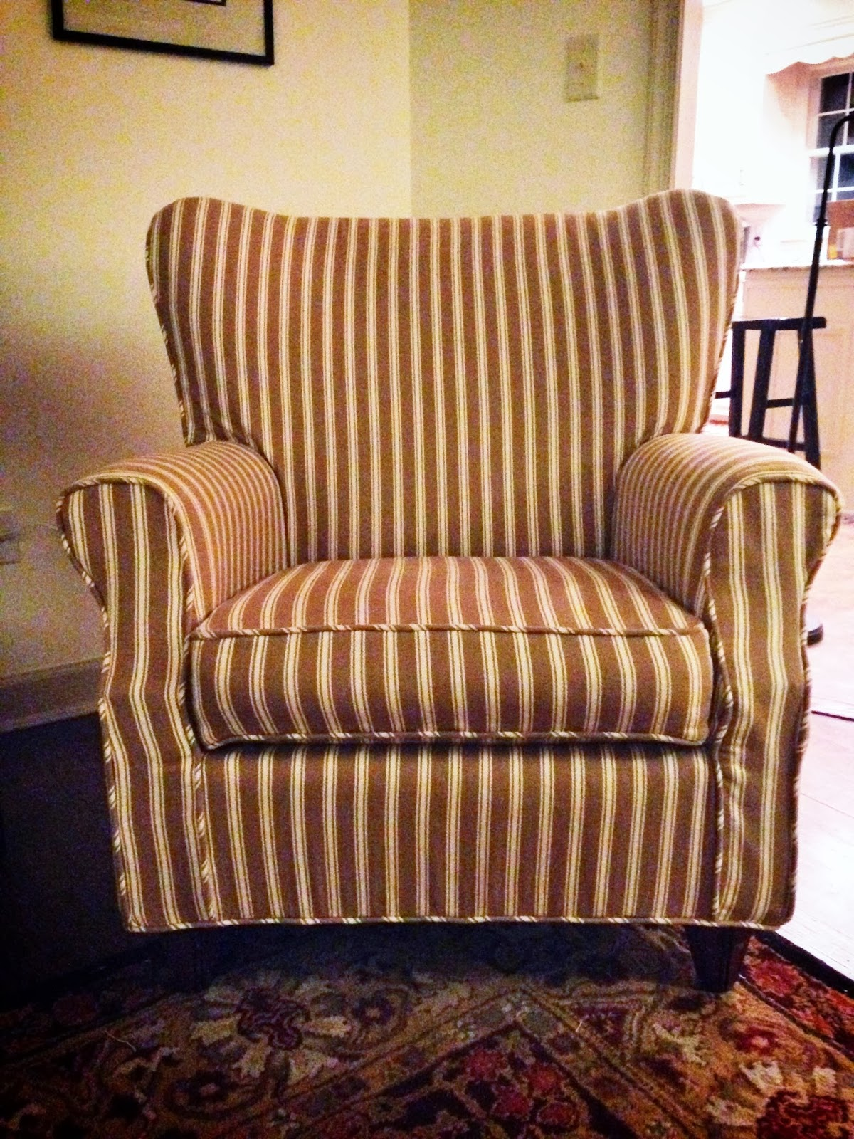 burlap dining chair covers swivel exercise pam morris sews slipcovers