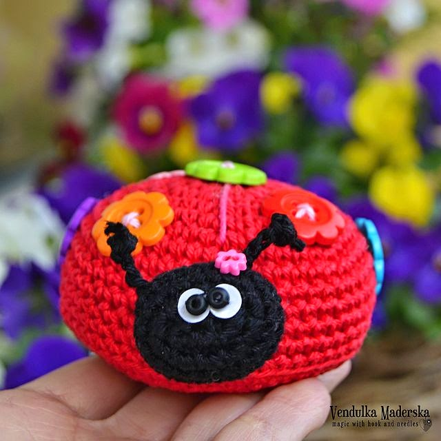 Ladybug - VendulkaM crochet patterns