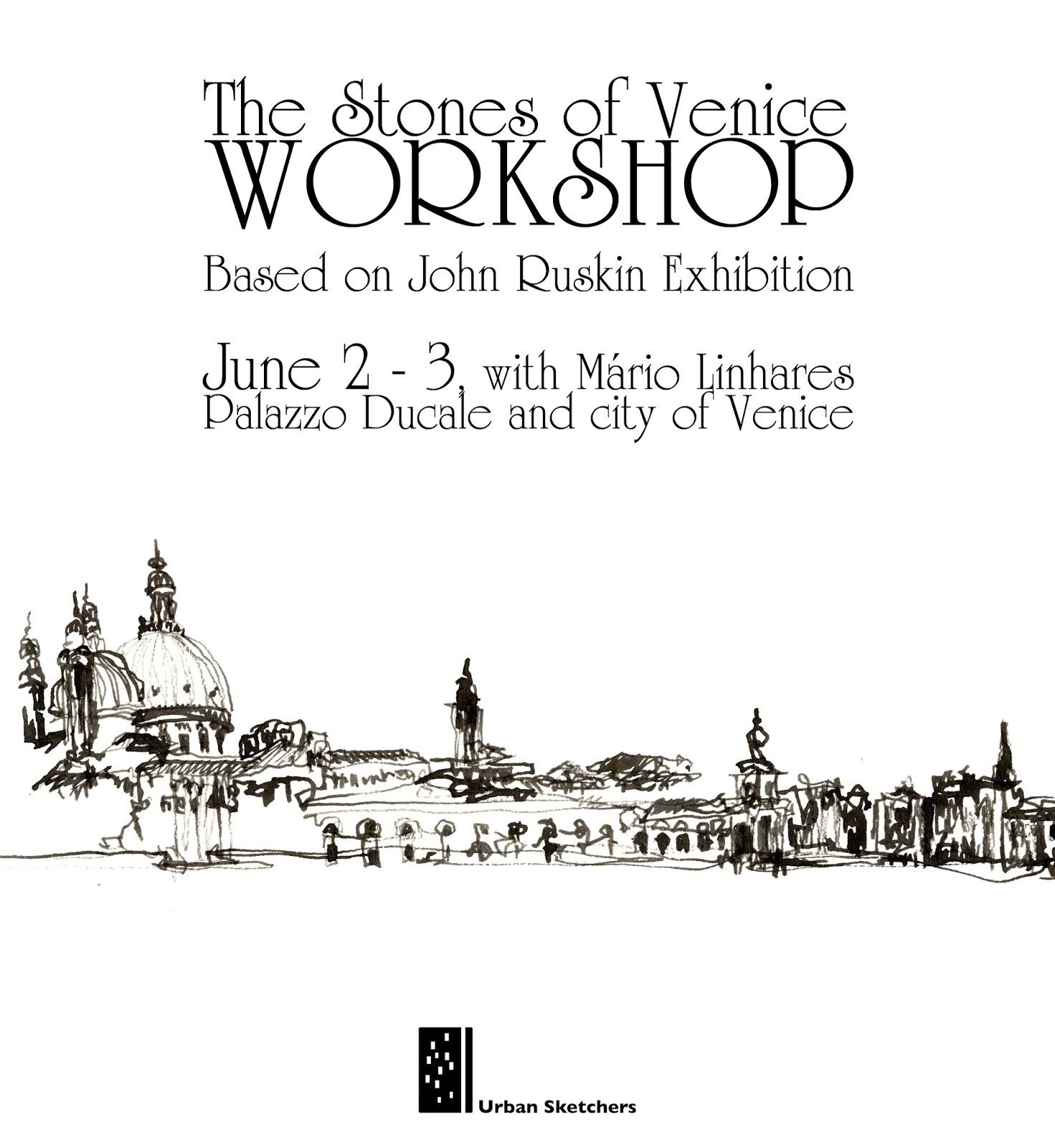 The Stones of Venice Workshop