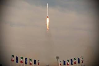 Peluncuran Satelit Militer Iran