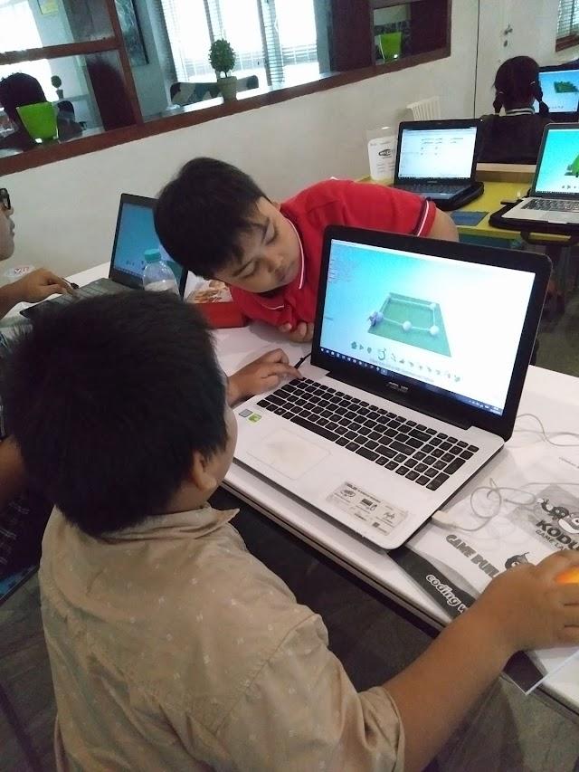 Kini Anak Bisa Bikin Game Sendiri di Kelasku Digital