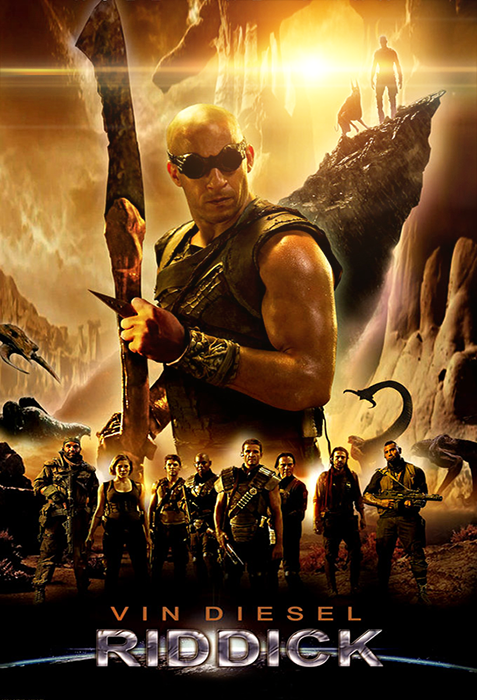Poster Riddick 2013