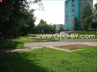 16 средняя школа города Минска. Школьный стадион