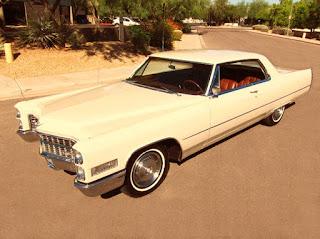 1966 Cadillac Coupe DeVille Classic Sedan