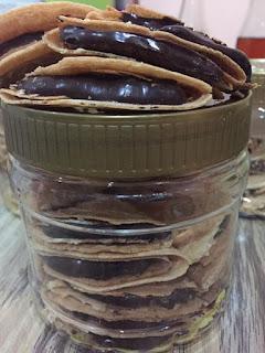 Resepi Kuih Kapit Peanut Butter Sukatan Cawan