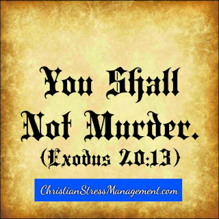 The sixth 6 commandment You shall not murder Exodus 20:13
