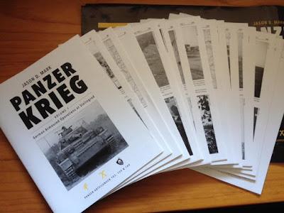 Panzerkrieg: Volume 1 Update, by Jason Mark