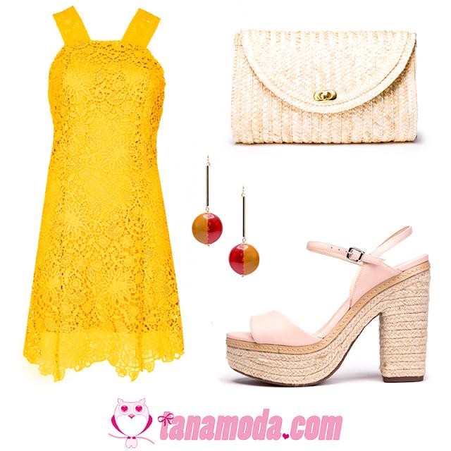 Look Amarelo para o Reveillon - DINHEIRO