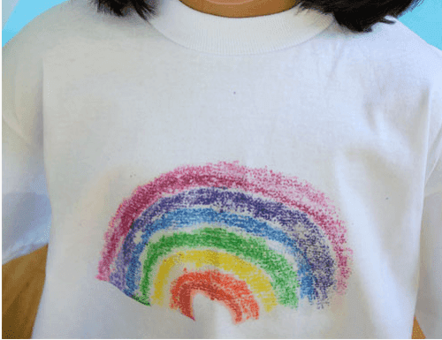 How to Print a Design Onto a Shirt Using Sandpaper