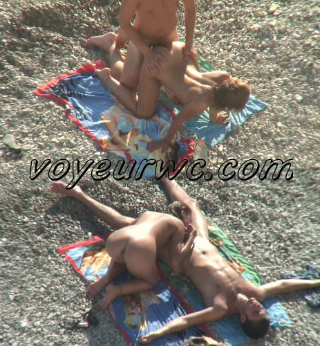 BeachHunters Sex 18478-18621 (Hot Nudist Couples spy cam at the beach)