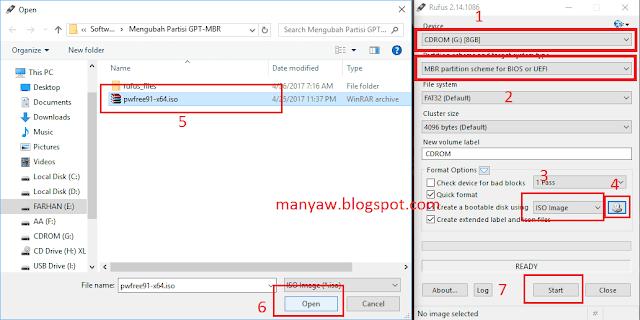Cara Mengubah Format Hard Disk MBR ke GPT - Manyaw Blog