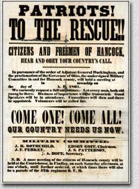 Climbing My Family Tree: Ohio Civil War Recruitment Poster