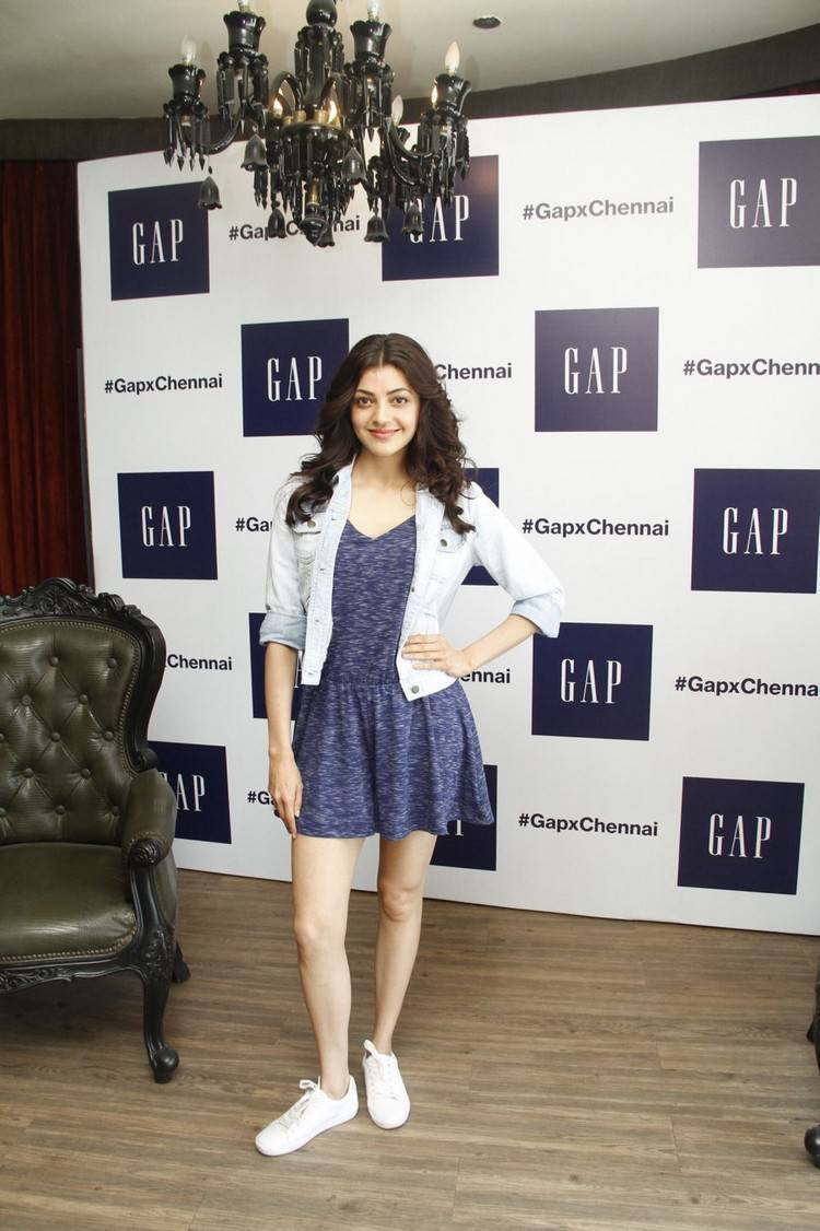 Kajal Agarwal Latest Photos At Store Launch