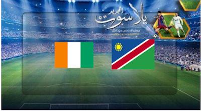 نتيجة مباراة نامبيا وساحل العاج اليوم 01-07-2019 كأس الأمم الأفريقية