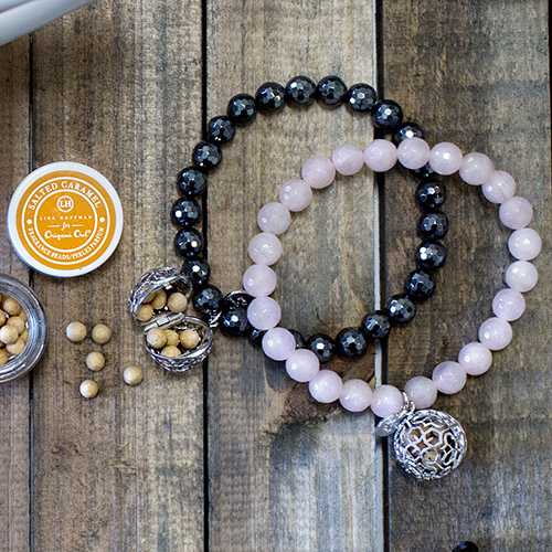 Lisa Hoffman Bracelets with Fragrance Pendant available at StoriedCharms.com