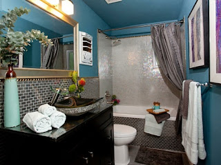 baño pequeño decorado