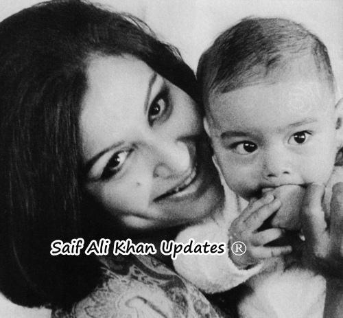 Childhood Pictures of Celebrities Actors Actress: Saif ali ...