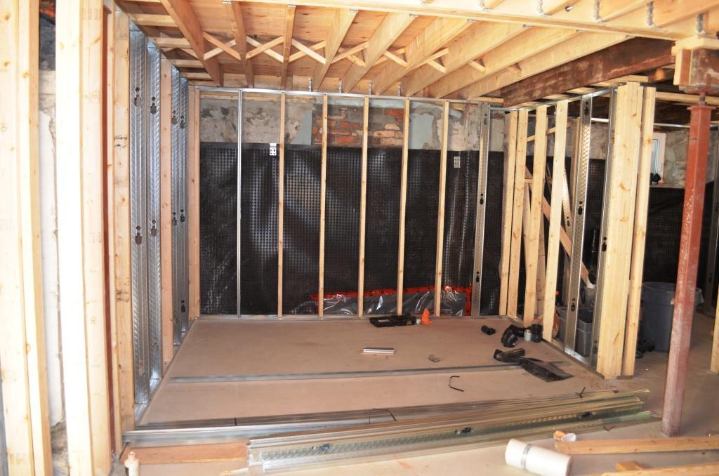 The Bennett House: Basement Framing
