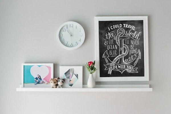 Chalkboard Room Decor