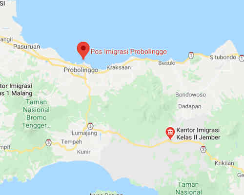 Alamat Telepon Kantor Imigrasi Probolinggo - Jawa Timur