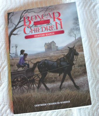 Mystery Ranch- Boxcar Children, part of August reading roundup favorite book selections
