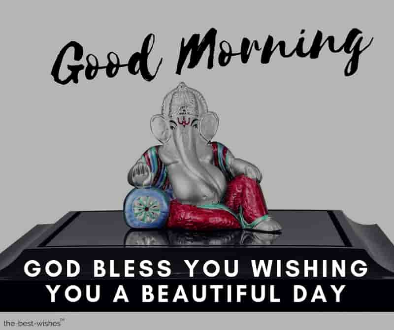good morning god ganesha images