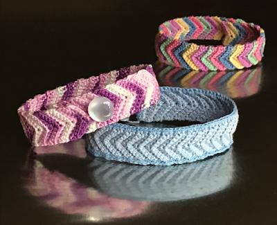 crochet friendship bracelets