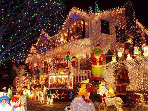 Christmas lighting and gifts for house