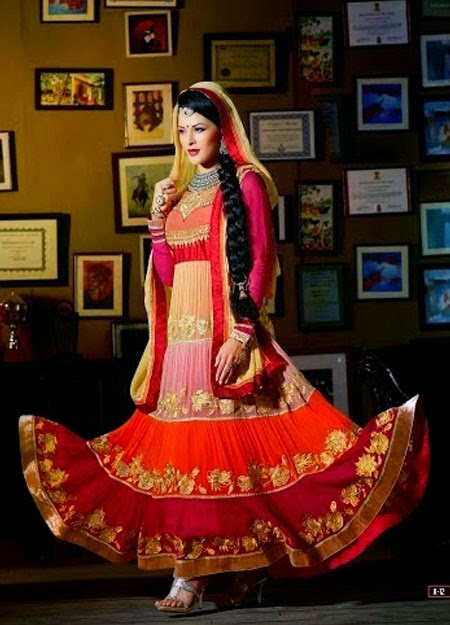 Long Anarkali Is An Best Indian Ethnic Wear Of Women's