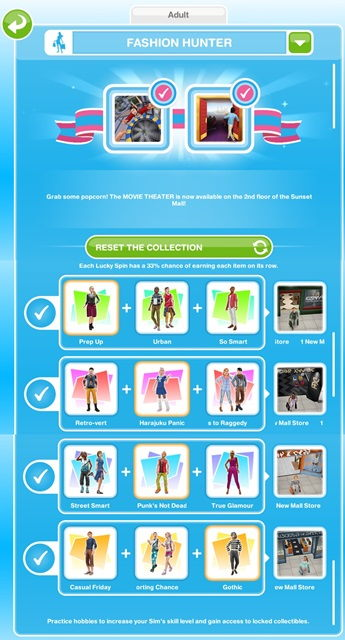 Fashion Hunter Hobby The Sims Freeplay Freeplay Guide