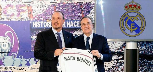 """El destinatario de """"la dieta de Mourinho"""" no es Benítez sino Florentino"""