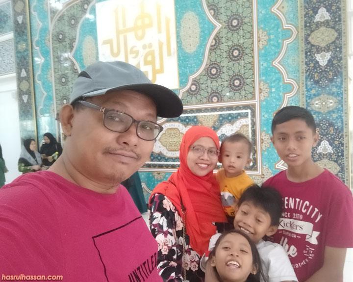 Gambar Semasa Lawatan Nasyrul Quran Putrajaya