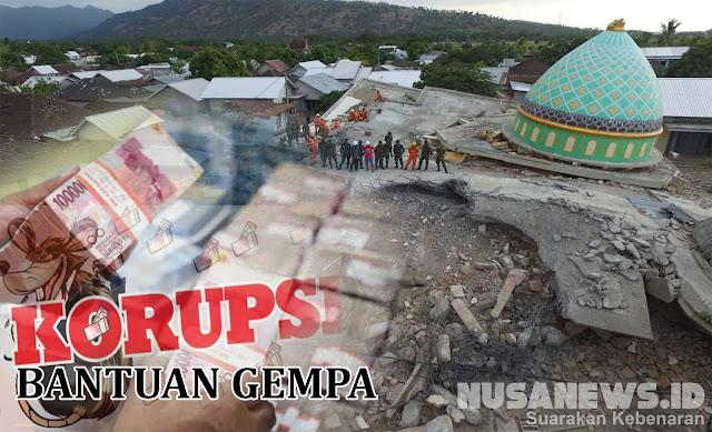 Kena OTT Bantuan Gempa Lombok, Hukum Mati Anggota DPRD Golkar!