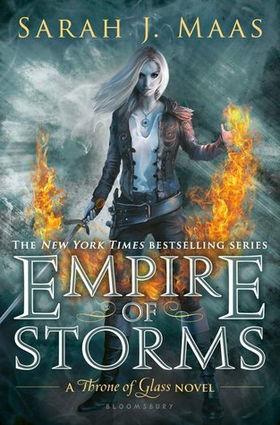 Empire Of Storms Sarah J. Maas Cover Throne Of Glass