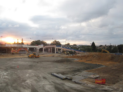 Photo of the Pacific fair Old Buildings Bulldozed and near ready for reconstruction.