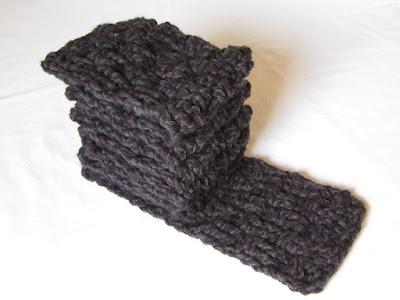 free crochet pattern, basket weave, scarf, triple crochet