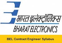 BEL Contract Engineer Syllabus