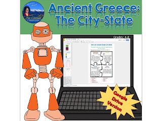Greece City States Digital Product